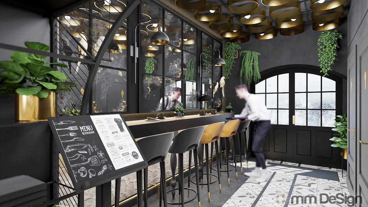 mm design projektowanie wnętrz restauracji 4